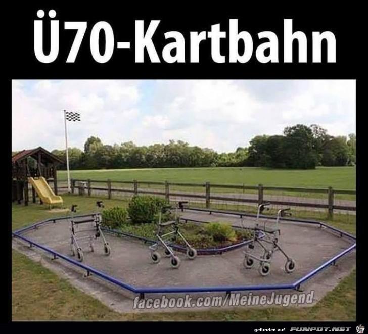 Ü70-Kartbahn