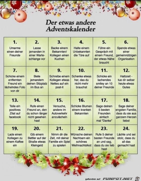Ein toller Adventskalender