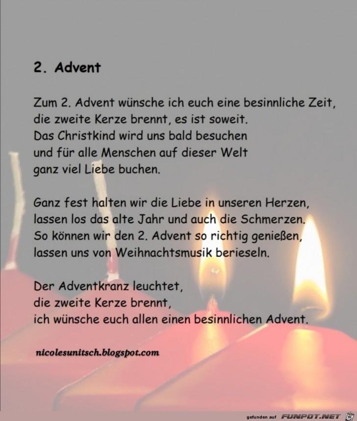 2. ADVENT - Gedicht