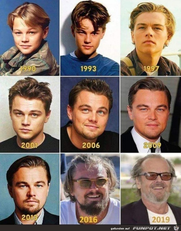 Veränderung mit den Jahren