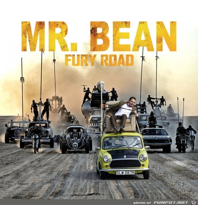 Mr. Bean Fury Road 1
