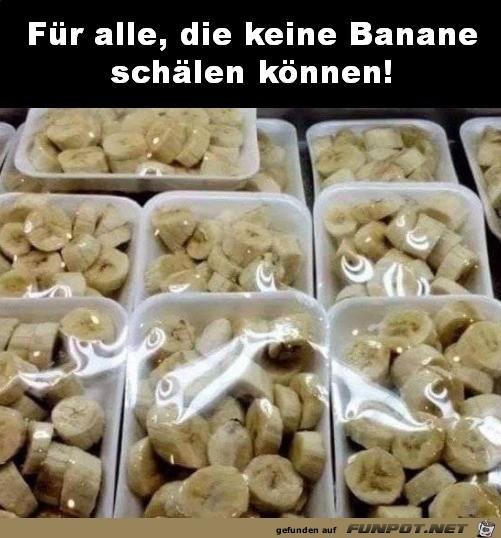 Bananen für Blöde