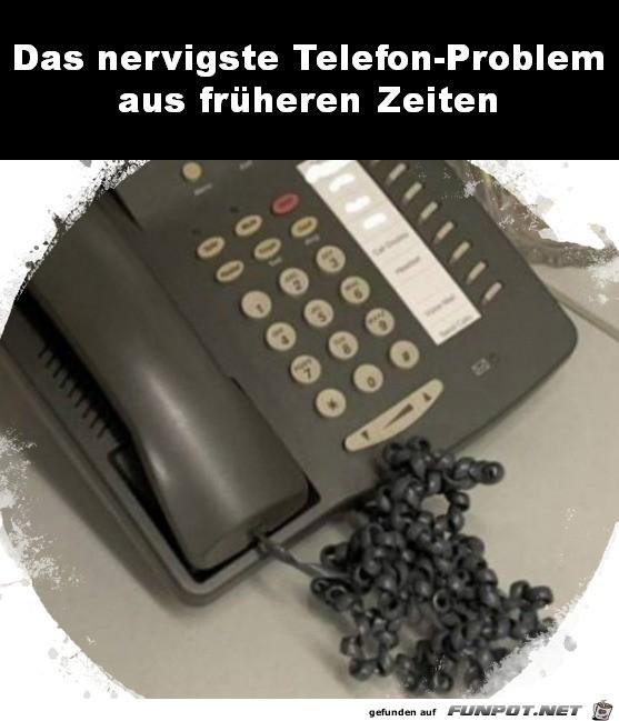 Das Kabel-Problem am Telefon