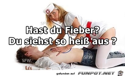Hast du Fieber