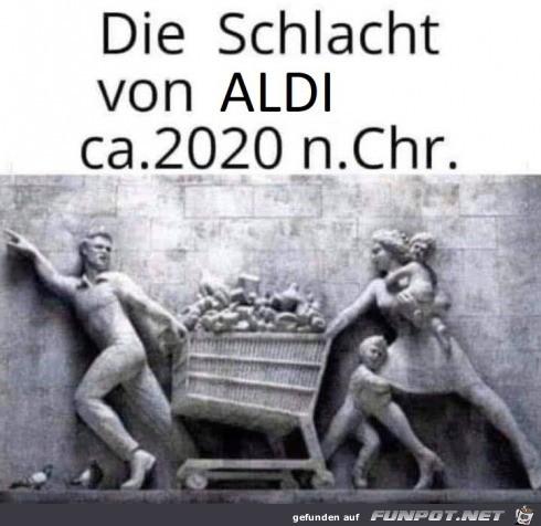 Die Schlacht vom Aldi