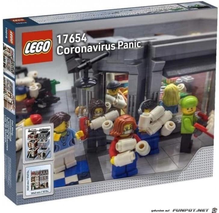 Coronavirus Panic Lego