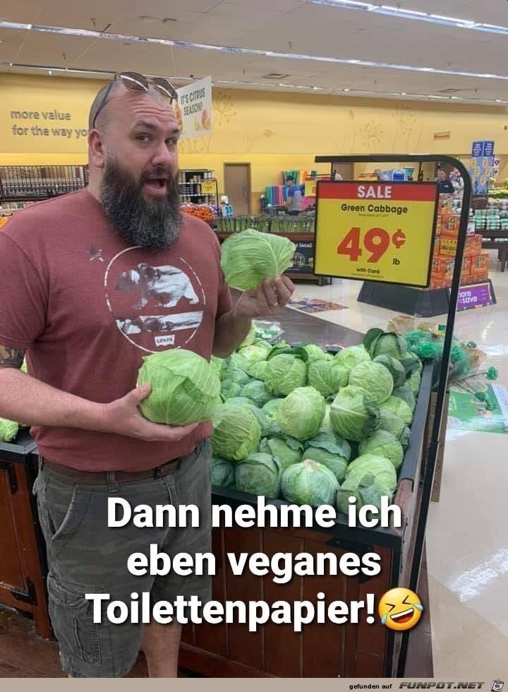 Veganes Klopapier