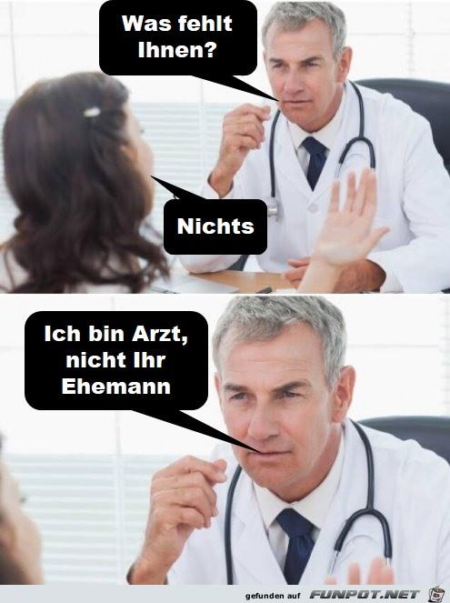 Arzt-findet-klare-Worte.jpg auf www.funpot.net