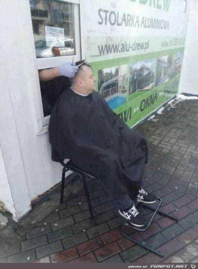 Haare schneiden in Corona - Zeiten