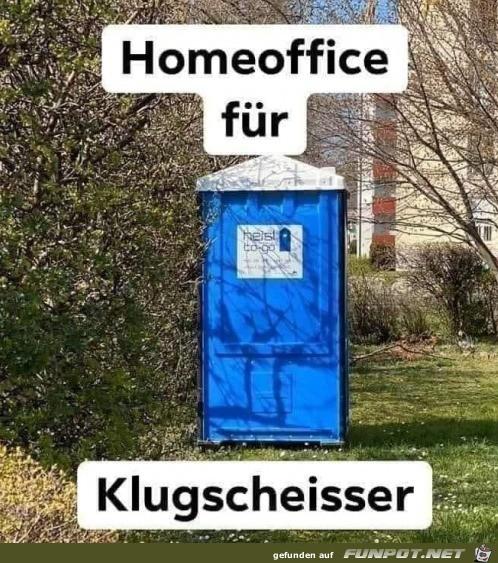 Home Office für Klugscheißer