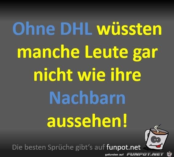 Ohne DHL