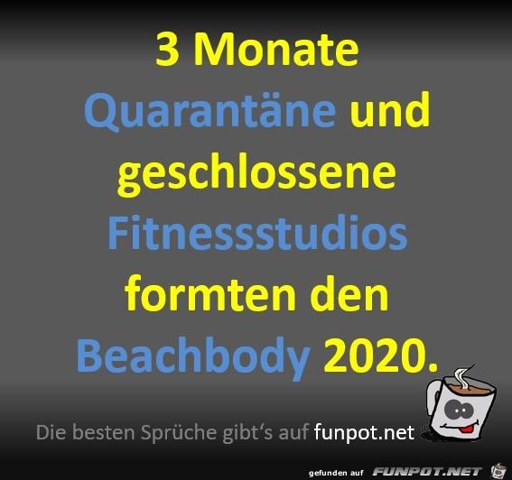 Der Beachbody 2020