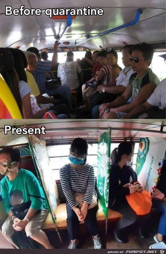Bus in Corona-Zeiten