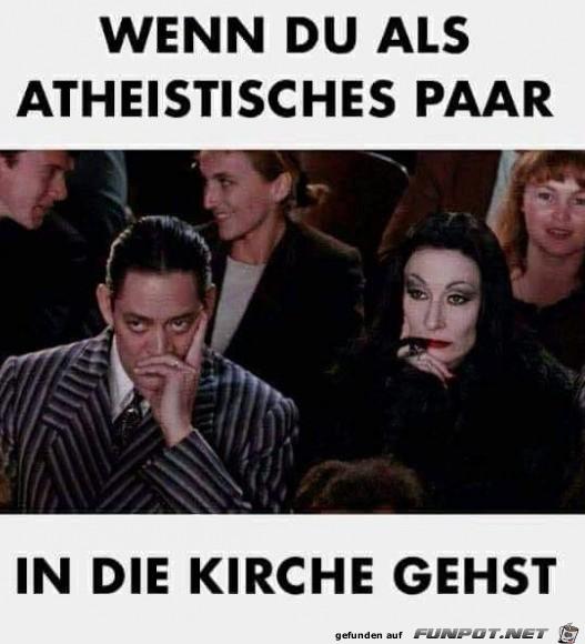 Atheisten in der Kirche