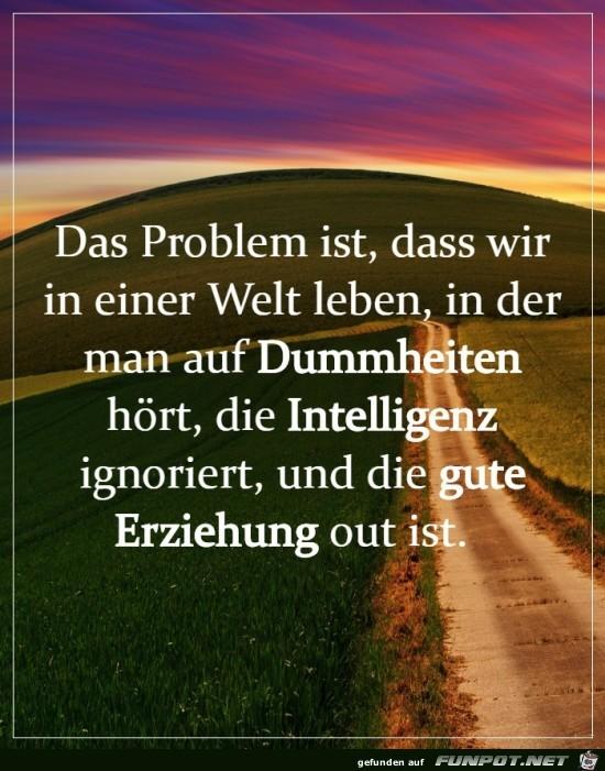 Das Problem ist