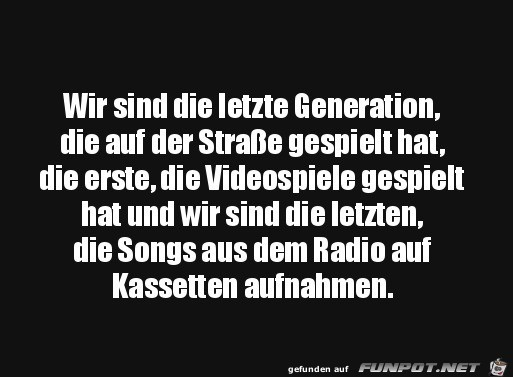 Unsere Generation