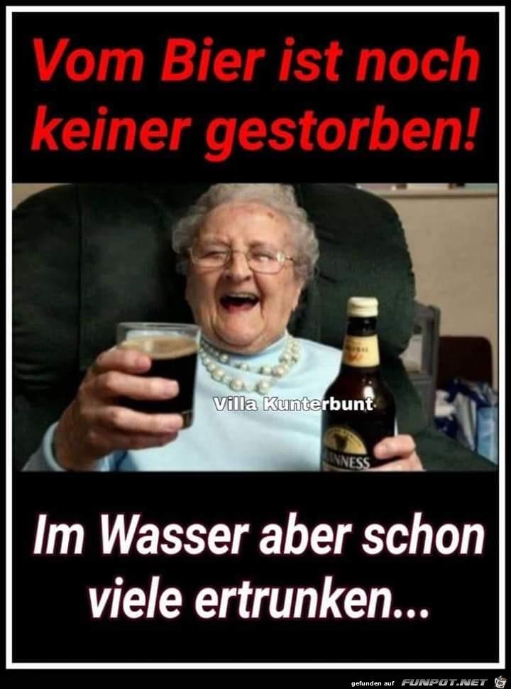 Bier ist doch Gesund