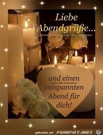 Liebe Abendgrüße