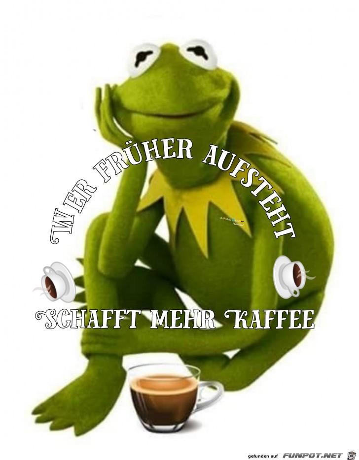Frueher Kaffee
