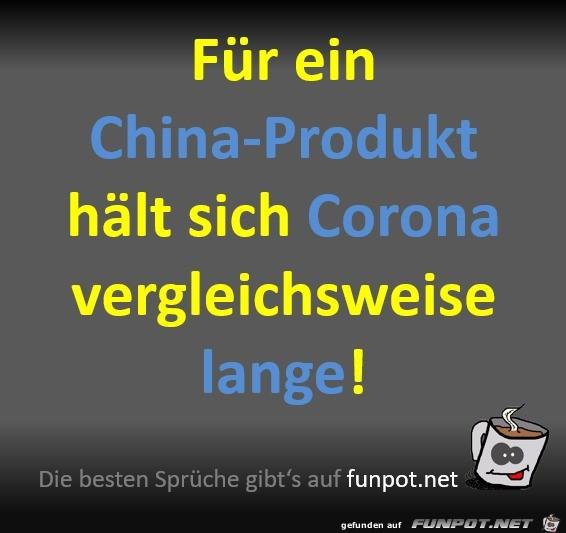 Corona als China-Produkt