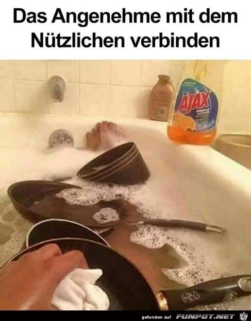 Dann lieber kein Bad nehmen