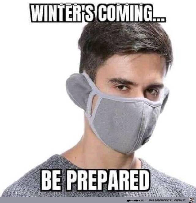 Bereite dich auf den Winter vor