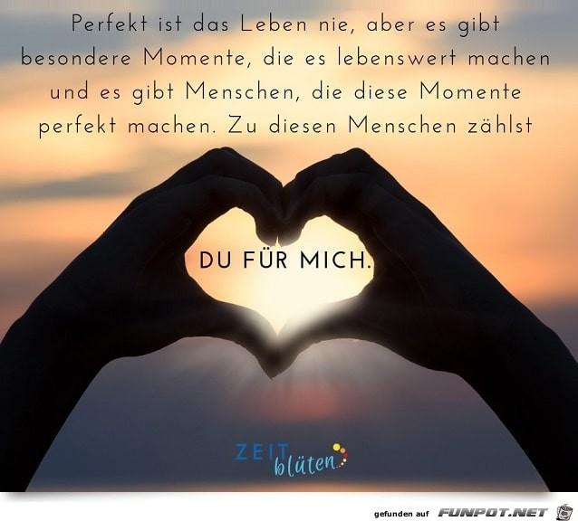 Perfekt ist das Leben nie