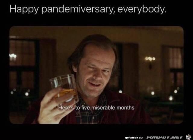 5 Monate Pandemie