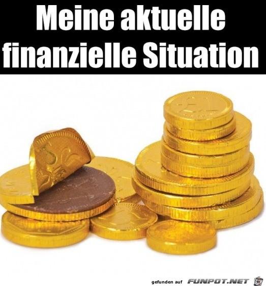 Meine aktuelle finanzielle Situation