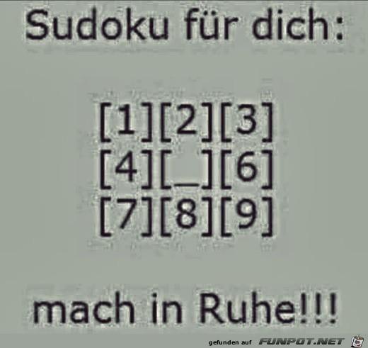 Schweres Sudoku