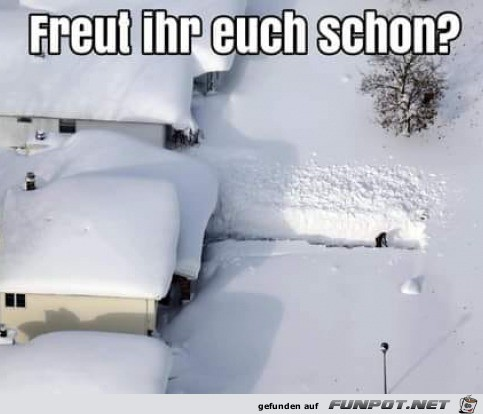 Bald ist Winter