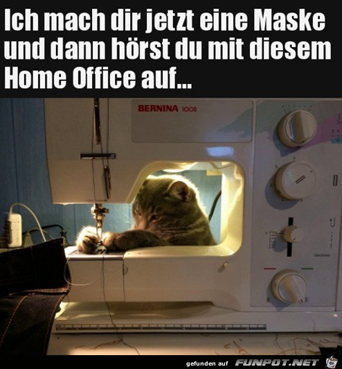 Schluss mit Home Office