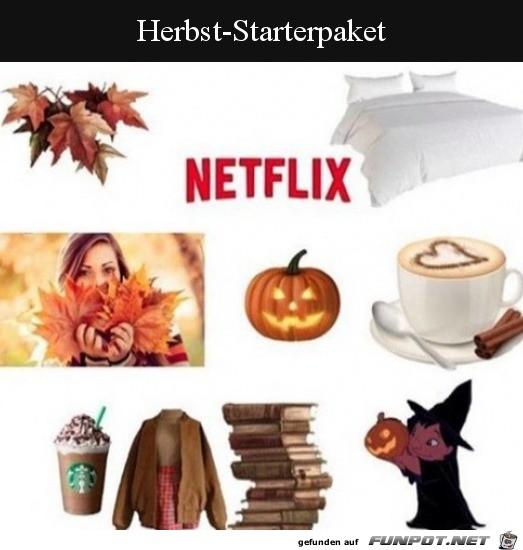 Das Starterpaket für den Herbst