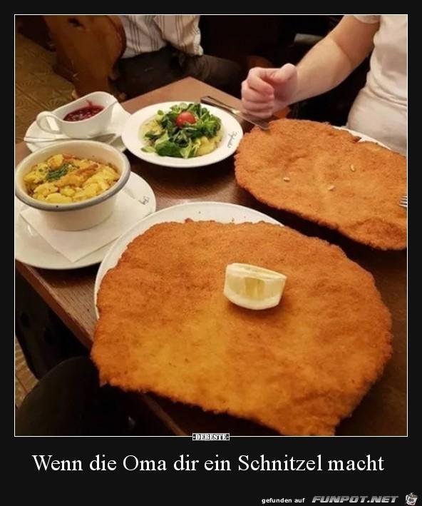Original Omas Schnitzel