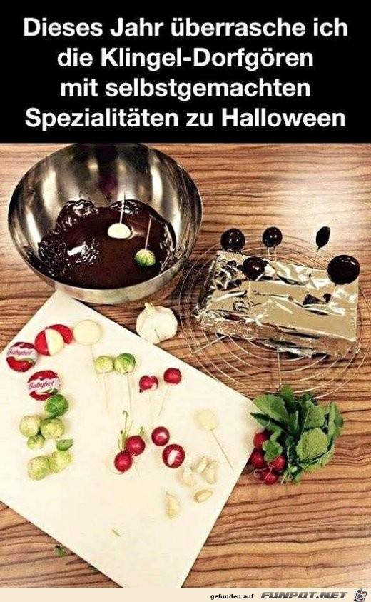 Spezialitäten zu Halloween