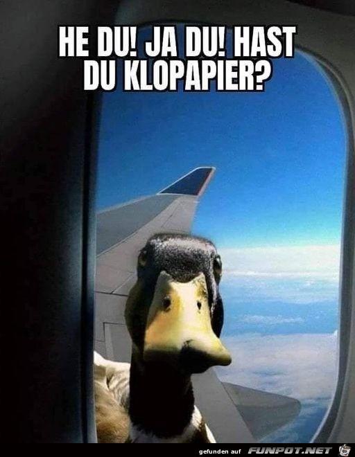 Hast du Klopapier?