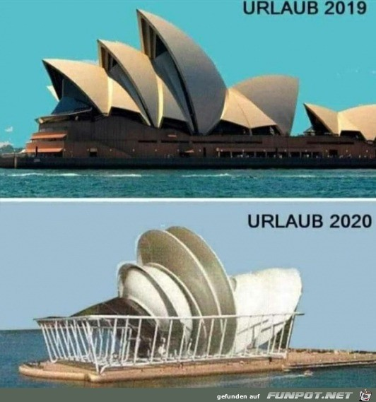 Urlaub 2019 und 2020