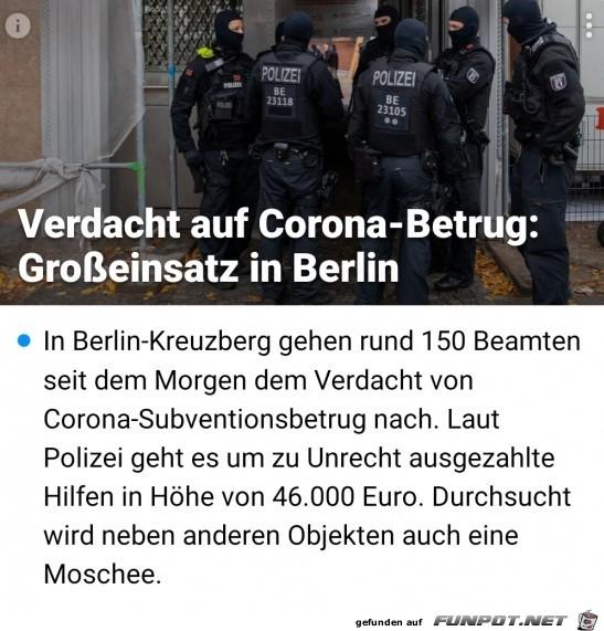 Grosseinsatz in Berlin