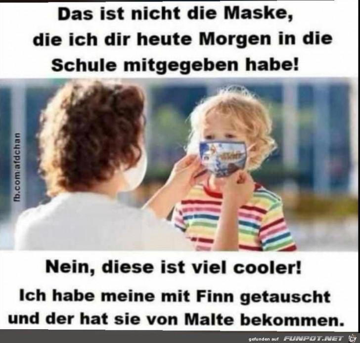 Das Thema Maske und Kinder