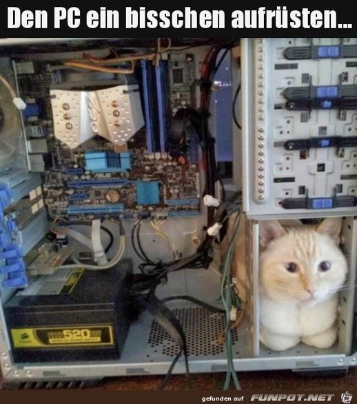 PC aufgerüstet