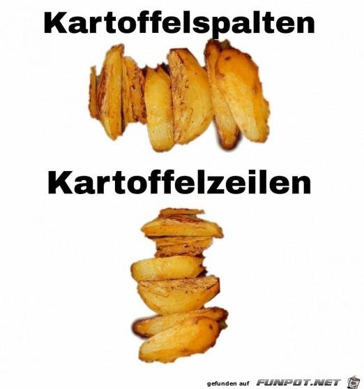 Die Sache mit den Kartoffeln