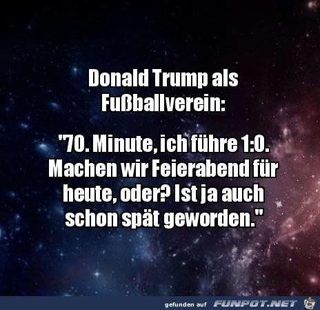 So ist Trump