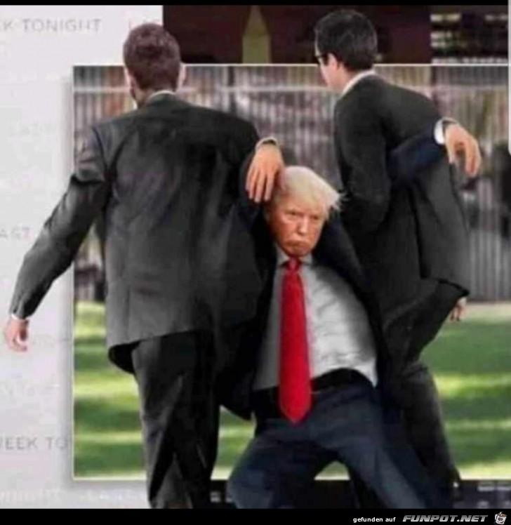 Und Tschuess Trump