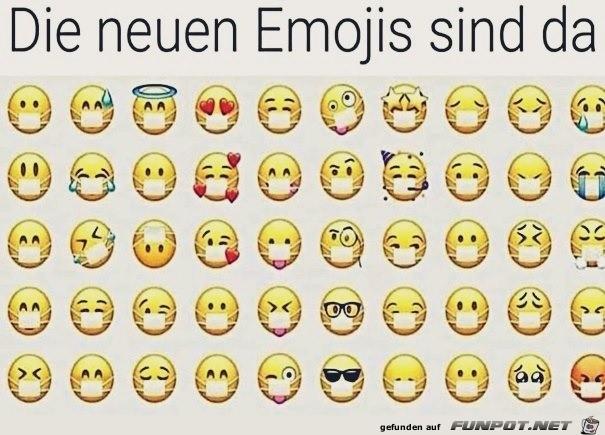 Die neuen Emojis mit Masken könnte man jetzt bringen