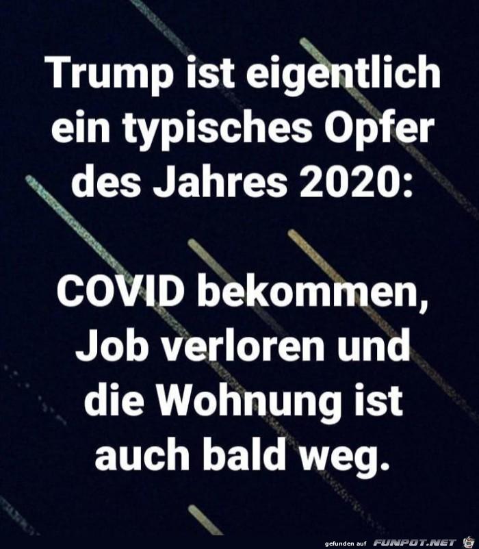 Trump ist Opfer des Jahres 2020
