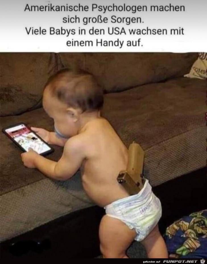 Babies und Handys