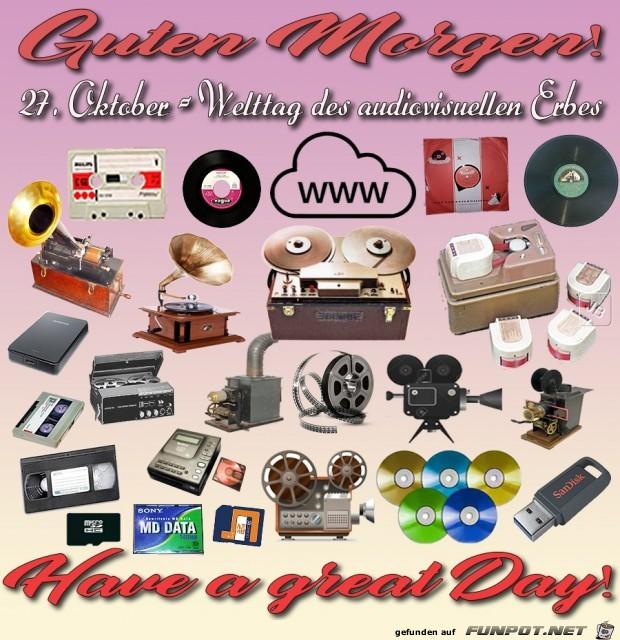 Welttag des audiovisuellen Erbes