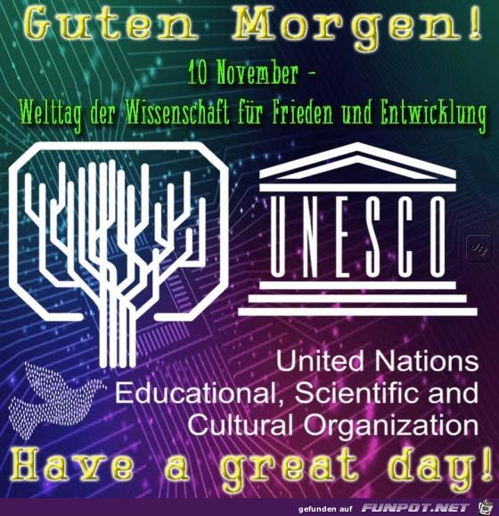 Welttag der Wissenschaft für Frieden und Entwicklung