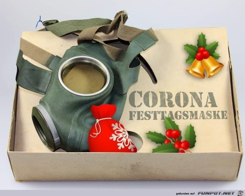 Festtagsmaske