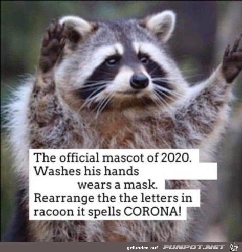 Official Mascot 2020